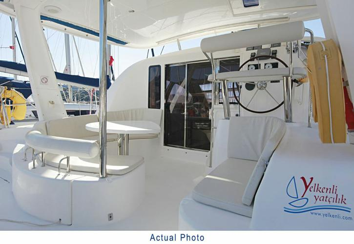 Catamaran boat rental in Aegean, Turkey
