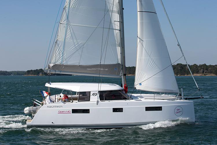 Enjoy Cyclades in style on our Nautitech Rochefort