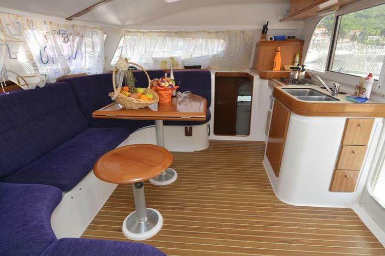 Boat for rent Nautitech Rochefort 39.0 feet in ACI Marina Dubrovnik (Komolac) , Croatia