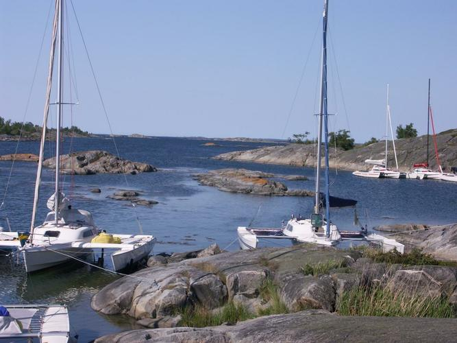 Trimaran boat for rent in Stockholm County