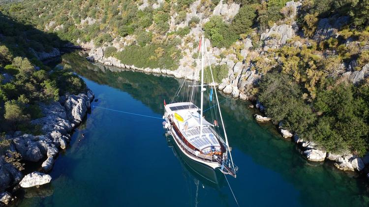 Boat for rent Unknown 52.0 feet in Kas Marina,