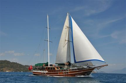 Discover Šibenik region surroundings on this Malena Unknown boat