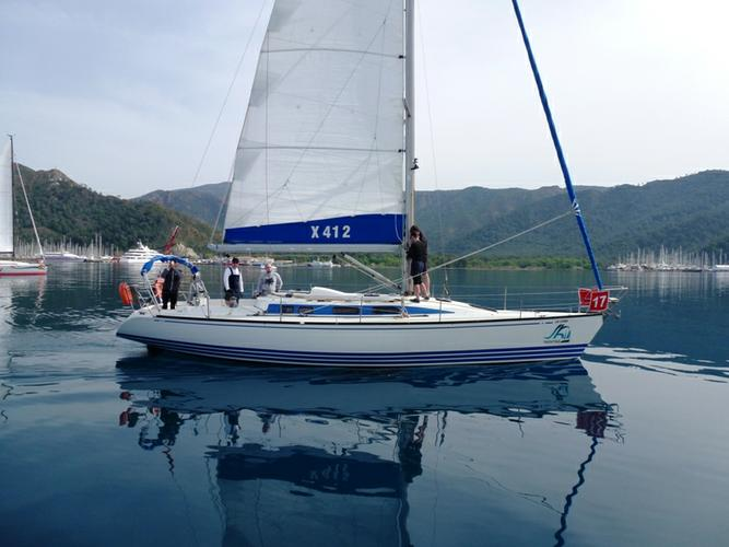 Discover Aegean surroundings on this X 412 X-Yachts boat