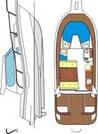 thumbnail-2 Damor 29.0 feet, boat for rent in Kvarner, HR