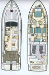 thumbnail-2 Ferretti Yachts Group 46.0 feet, boat for rent in Split region, HR