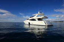 Enjoy luxury and comfort on this Ferretti Yachts Group in