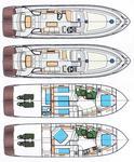 thumbnail-2 Pearl Sea Yachts d.o.o. 55.0 feet, boat for rent in Split region, HR