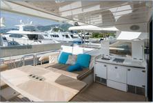 thumbnail-3 Princess Yachts 66.0 feet, boat for rent in Split region, HR