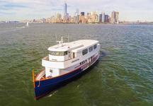 Cruise NY Harbor on this Modern Take on a Classic Yacht