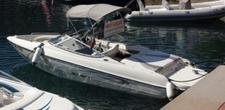 Climb aboard this Stingray Boats
