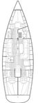 thumbnail-2 Bavaria Yachtbau 38.0 feet, boat for rent in Cyclades, GR
