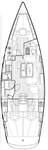 thumbnail-2 Bavaria Yachtbau 40.0 feet, boat for rent in Cyclades, GR