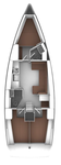 thumbnail-2 Bavaria Yachtbau 40.0 feet, boat for rent in Split region, HR