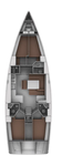 thumbnail-2 Bavaria Yachtbau 46.0 feet, boat for rent in Aegean, TR