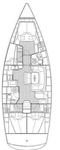 thumbnail-2 Bavaria Yachtbau 47.0 feet, boat for rent in Cyclades, GR