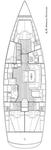 thumbnail-2 Bavaria Yachtbau 47.0 feet, boat for rent in Split region, HR