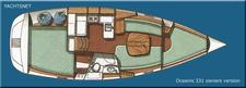thumbnail-7 Beneteau 34.0 feet, boat for rent in Key Biscayne, FL