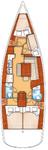 thumbnail-2 Bénéteau 42.0 feet, boat for rent in Split region, HR