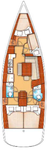 thumbnail-2 Bénéteau 42.0 feet, boat for rent in Split region, HR