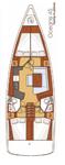 thumbnail-2 Bénéteau 45.0 feet, boat for rent in Aegean, TR