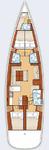 thumbnail-2 Bénéteau 54.0 feet, boat for rent in Split region, HR