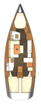 thumbnail-2 Dufour Yachts 39.0 feet, boat for rent in Azores, PT