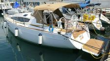 Sail Zadar region waters on a beautiful Elan Marine