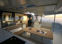 thumbnail-8 Fountaine Pajot 43.0 feet, boat for rent in Zadar region, HR
