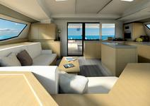 thumbnail-7 Fountaine Pajot 49.0 feet, boat for rent in Split region, HR