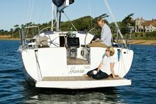 thumbnail-9 Hanse Yachts 34.0 feet, boat for rent in Split region, HR