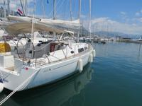 Rent this Hanse Yachts Hanse 370 for a true nautical adventure