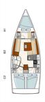 thumbnail-10 Hanse Yachts 37.0 feet, boat for rent in Split region, HR