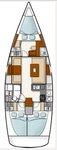 thumbnail-2 Hanse Yachts 39.0 feet, boat for rent in Istra, HR