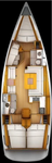 thumbnail-2 Jeanneau 43.0 feet, boat for rent in Aegean, TR