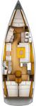 thumbnail-2 Jeanneau 43.0 feet, boat for rent in Cyclades, GR