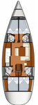 thumbnail-2 Jeanneau 49.0 feet, boat for rent in Cyclades, GR