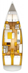 thumbnail-2 Jeanneau 50.0 feet, boat for rent in Aegean, TR