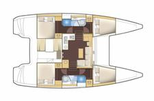 thumbnail-2 Lagoon-Bénéteau 38.0 feet, boat for rent in Šibenik region, HR