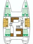thumbnail-2 Lagoon-Bénéteau 39.0 feet, boat for rent in Šibenik region, HR