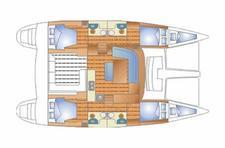 thumbnail-2 Lagoon-Bénéteau 44.0 feet, boat for rent in Šibenik region, HR