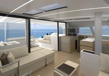 thumbnail-8 Nautitech Rochefort 45.0 feet, boat for rent in Split region, HR
