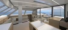 thumbnail-4 Nautitech Rochefort 45.0 feet, boat for rent in Split region, HR
