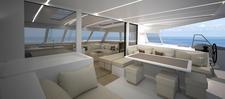 thumbnail-3 Nautitech Rochefort 45.0 feet, boat for rent in Split region, HR