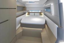 thumbnail-2 Nautitech Rochefort 45.0 feet, boat for rent in Split region, HR