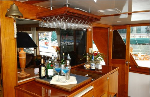 Up to 34 persons can enjoy a ride on this Classic boat