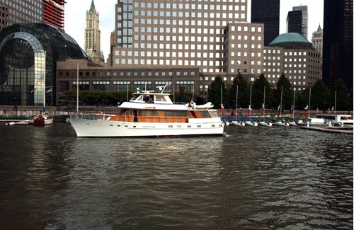 This 65.0' Stephens Bros. cand take up to 34 passengers around New York