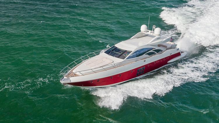 Boat for rent Azimut 86.0 feet in Bayside Marina, Miami,