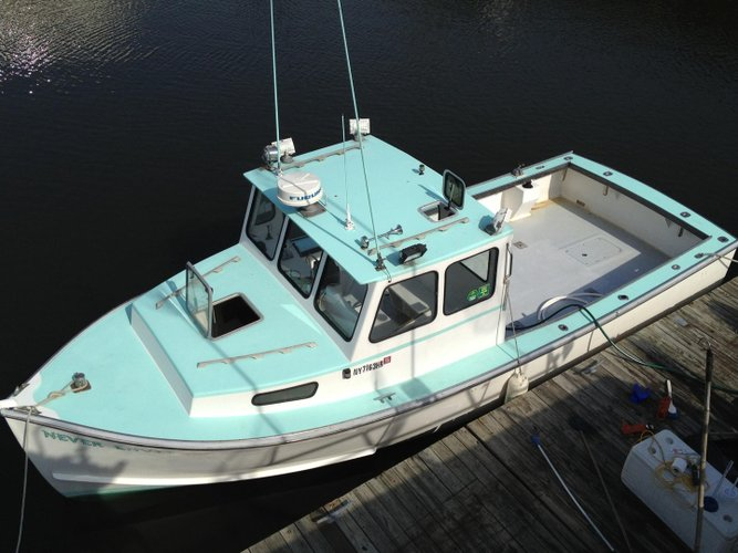 Downeast boat rental in World's Fair Marina, NY