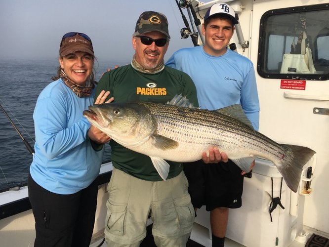 Boating is fun with a Bass boat in Montauk