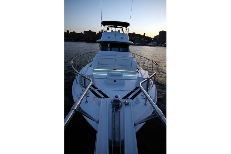 Motor yacht boat for rent in New York